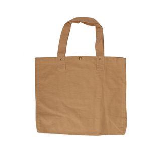 Shopper, bio-katoen, zand, 46 x 34 cm