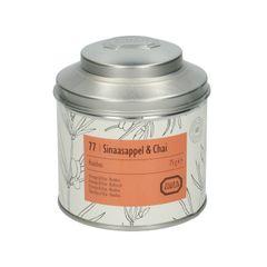 Sinaasappel & chai, biologisch, Rooibos, blik, 75 gram