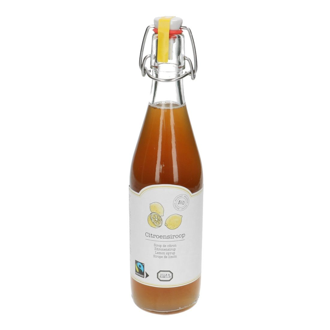 Sirop de citron, biologique, 500 ml