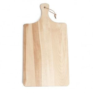 Snij-/serveerplank, beukenhout, 42 x 22 cm