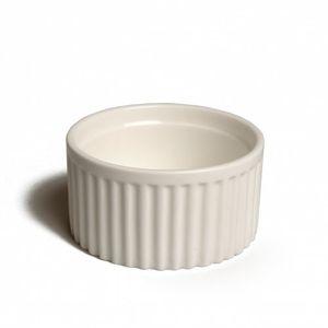 Souffléschaaltje/ ramekin, porselein, Ø 9 cm