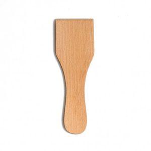 Spatule droite en bois de hêtre, 13 cm