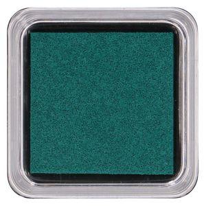 Stempelkissen, dunkelgrün, 5 x 5 cm