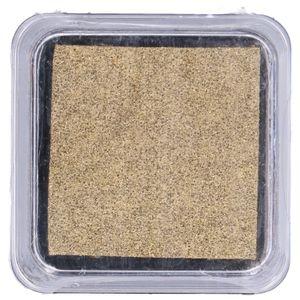 Stempelkissen, gold, 5 x 5 cm