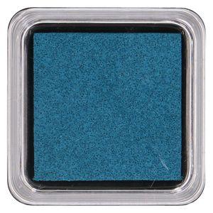 Stempelkussen. donkerblauw, 5 x 5 cm