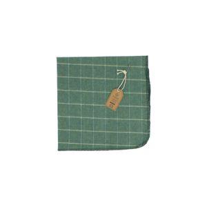Stofdoek, biologische katoen, groen, 45 x 45 cm