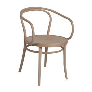 Stuhl 30, Buchenholz, unbehandelt, Sitz aus Holz