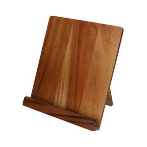 Support livre, bois d'acacia