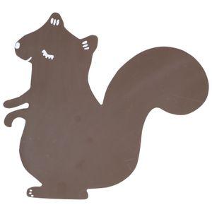 Tableau ardoise, écureuil, 33 x 30 cm