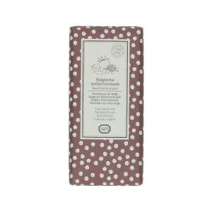 Tablette de chocolat au lait, fruits rouge & crunch, 130 g