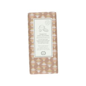 Tablette de chocolat blanc, gaufre au sirop & cappuccino, 130 g