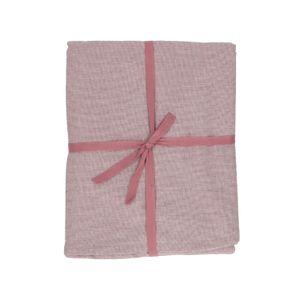 Tafelkleed, bio-katoen, violet gemêleerd, Ø 180 cm