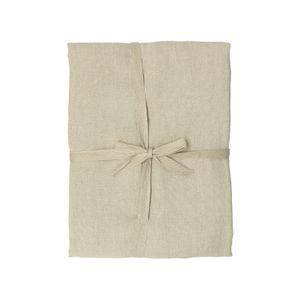 Tafelkleed, naturel ongebleekt linnen, 137 x 250 cm