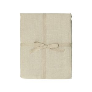 Tafelkleed, naturel ongebleekt linnen, 137 x 300 cm
