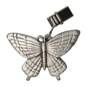 Tafelkleedhanger vlinder, metaal