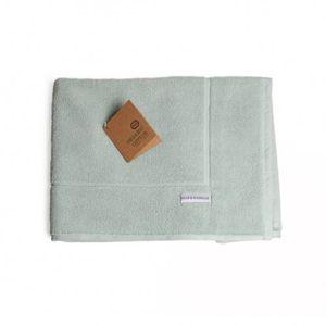 Tapis de bain, coton bio, vert céladon, 50 cm x 85 cm