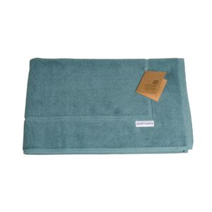 Tapis de bain, coton bio, vert sauge, 50 cm x 85 cm