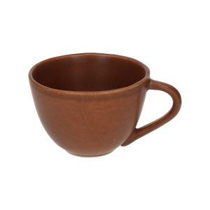 Tasse avec anse, grès, marron, 300 ml