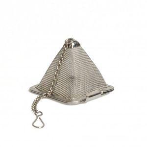 Tee-Ei in Pyramidenform, Edelstahl