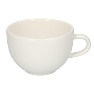 Teetasse 'Weiß', Steingut, Ø 10 cm