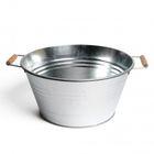Teil, zink, Ø 35 x 17,5 cm