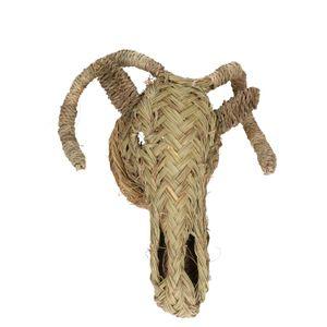 Tête de bélier, fibre d'alfa