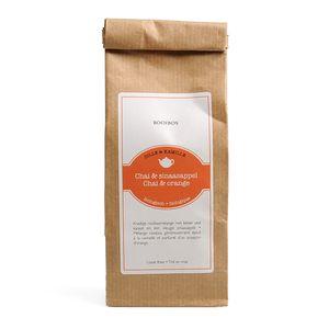 Thé rooibos biologique, Chai & orange, 75 g