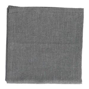 Theedoek, bio-katoen, antraciet gemêleerd, 50 x 70 cm