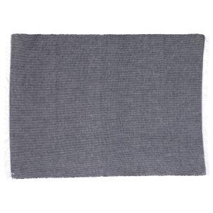 Tischset, Baumwolle, antrazit, 35 x 50 cm