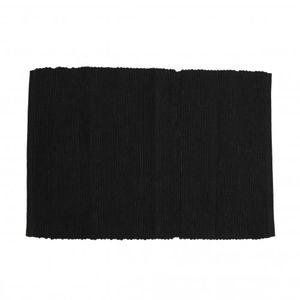 Tischset, Baumwolle, dunkelgrau, 33 x 45 cm