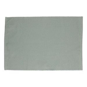 Tischset, Bio-Baumwolle, graugrün