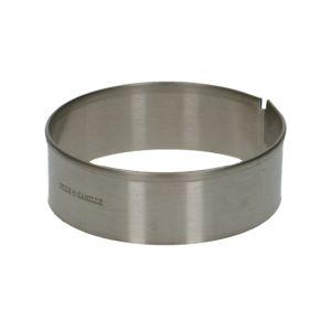 Tortenring, rund,rostfreier Stahl, Ø 6 cm