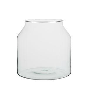 Vaas, recycled glas, groot