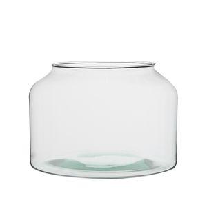 Vaas, recycled glas, middel