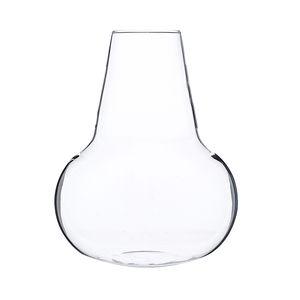 Vaasje, glas, hals, Ø 13 cm