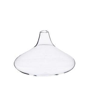 Vaasje, glas, ui-vormig, Ø 9 cm