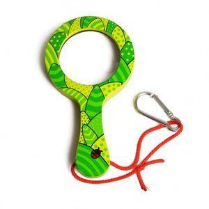 Vergrootglas clip dier, groen