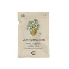 Voedingstabletten, voor kleine planten, 2 stuks