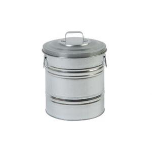 Vuilnisemmer recht, zink, 15 L