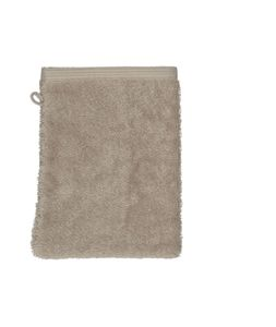 Waschhandschuh, Bio-Baumwolle, helltaupe