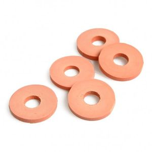 Weckring, rubber, beugelfles, Ø 2,5 cm