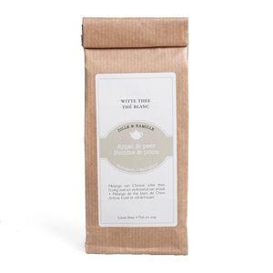 Witte thee, appel & peer, biologisch, 50 gram