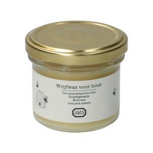 Wrijfwas voor hout , 125 ml