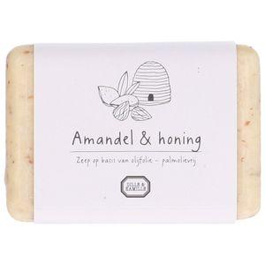 Zeep, amandel & honing, 150 gram